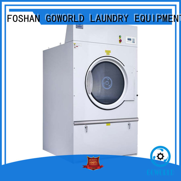 GOWORLD equipment industrial tumble dryer factory price for laundry plants