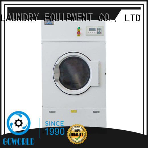 GOWORLD safe laundry dryer machine simple installation for laundry plants