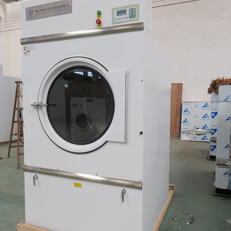 GOWORLD laundry tumble dryer machine simple installation for hospital-3