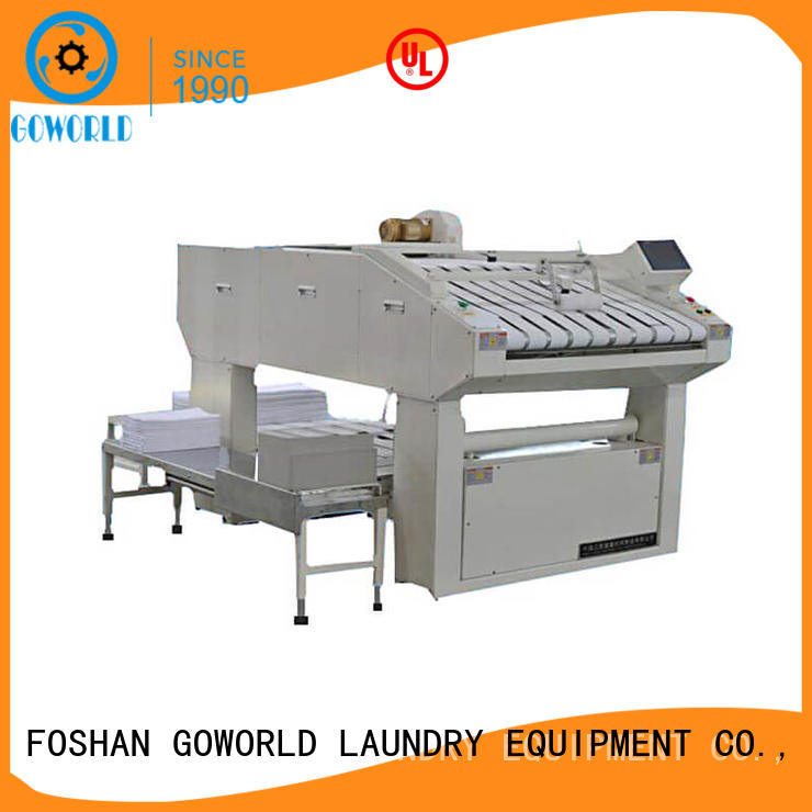 intelligent towel folder textile factory price for laundry factory