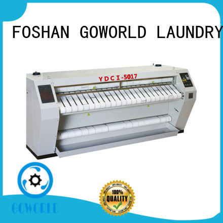 roller ironer free installation for hospital GOWORLD