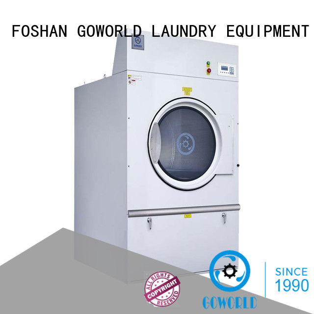 GOWORLD heating electric tumble dryer easy use for laundry plants