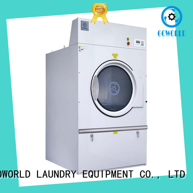 GOWORLD electric tumble dryer machine for drying laundry cloth for hospital