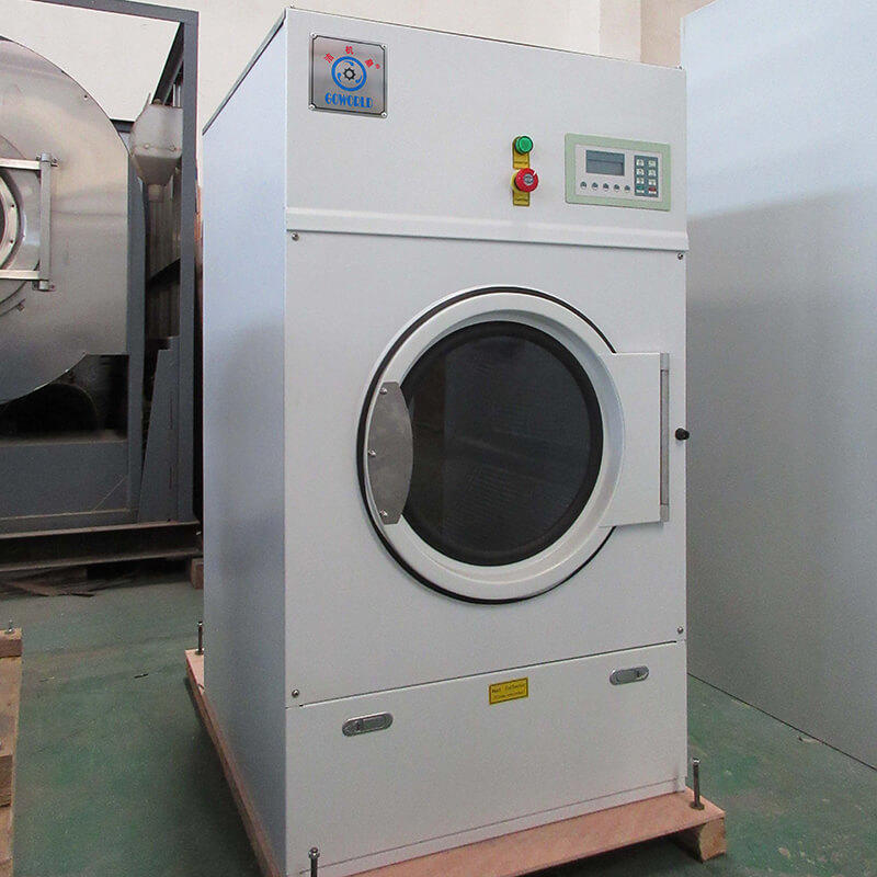 8kg150kg tumble dryer machine low noise for laundry plants GOWORLD-1