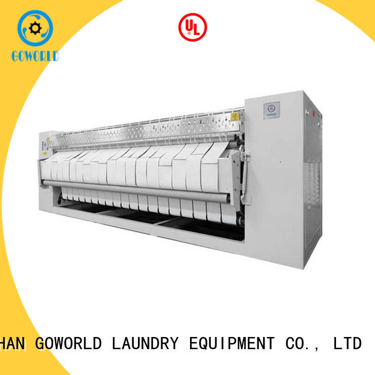 GOWORLD bed flat work ironer machine for sale for textile industries