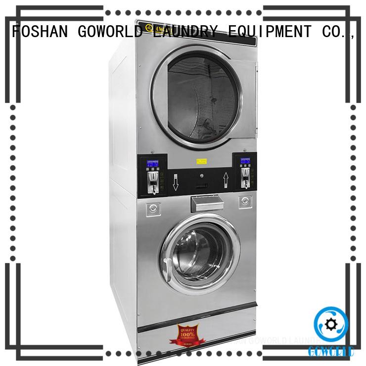 GOWORLD restaurants self service washing machine manufacturer for laundry shop