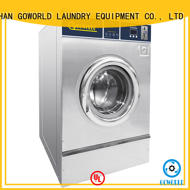 GOWORLD serviceservice self washing machine natural gas heating for laundry shop