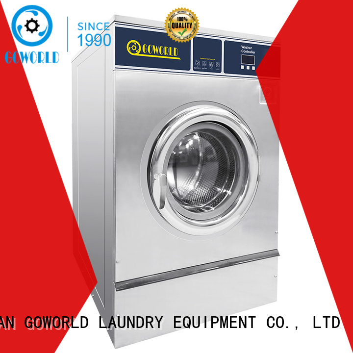 GOWORLD automatic industrial washer extractor easy use for hospital