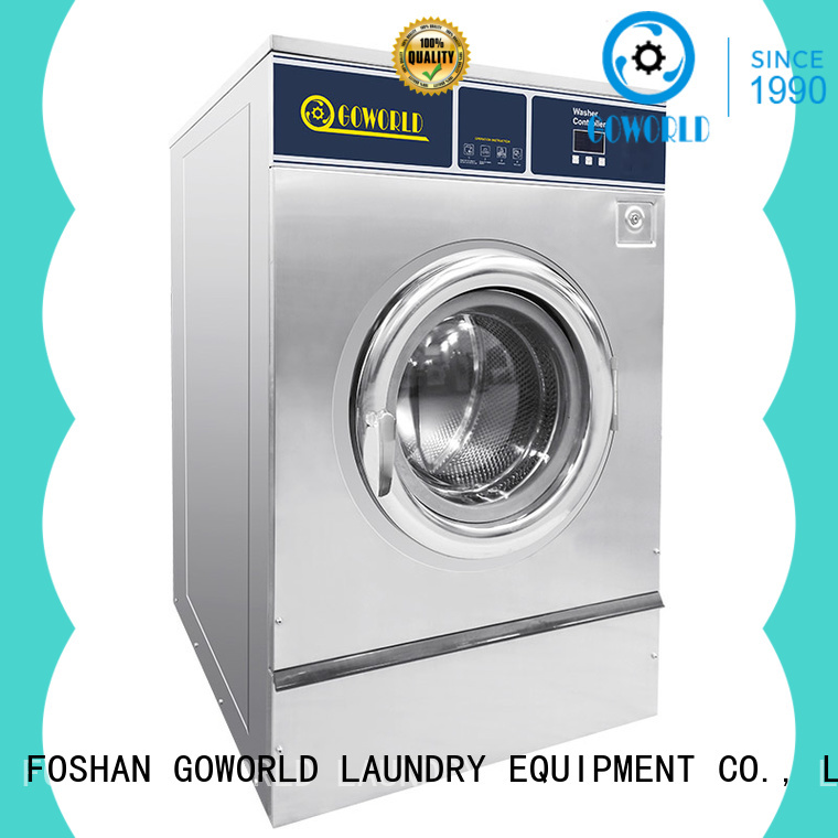GOWORLD automatic industrial washer extractor manufacturer for inns