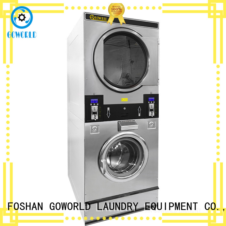 GOWORLD self laundry machine for commercial laundromat