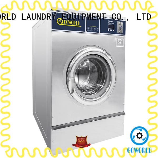 GOWORLD fire self-service laundry machine natural gas heating for school
