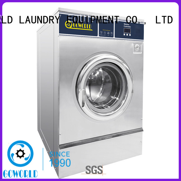 stainless steel barrier washer extractor soft simple installation for inns