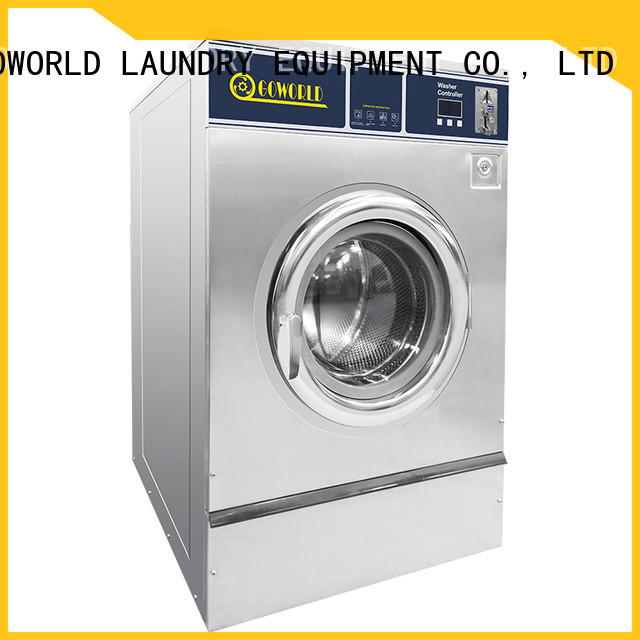 GOWORLD dryer self washing machine manufacturer for laundry shop