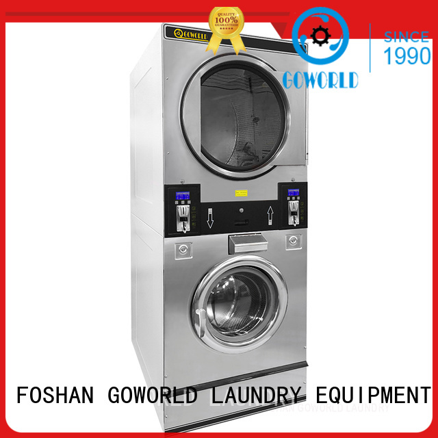 stainless steel self laundry machine hotel steam heating for school