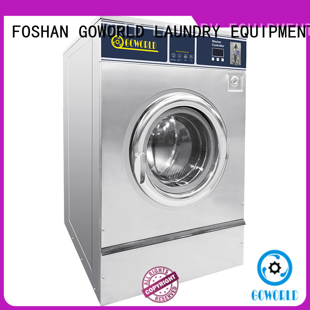 GOWORLD self service washing machine manufacturer for commercial laundromat